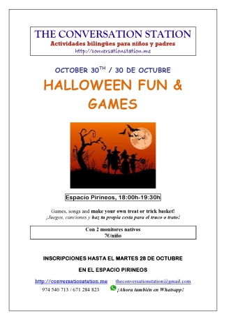 Halloween for kids 2014