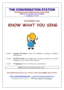 Know what you sing
